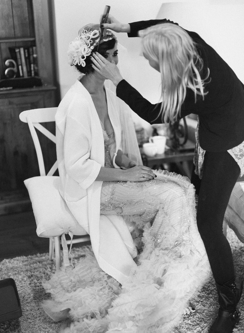 Jacinta Lennox mobile wedding hair stylist Sunshine Coast