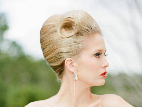 Retro Bride hairstyle