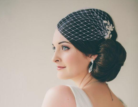 vintage wedding hairstyle sunshine coast