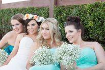 mobile bridal party hairstylist caloundra